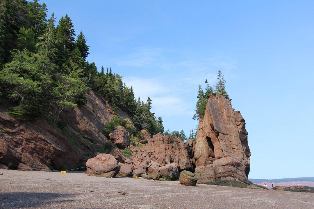 Découvrir les plus hautes marées au monde au Nouveau-Brunswick