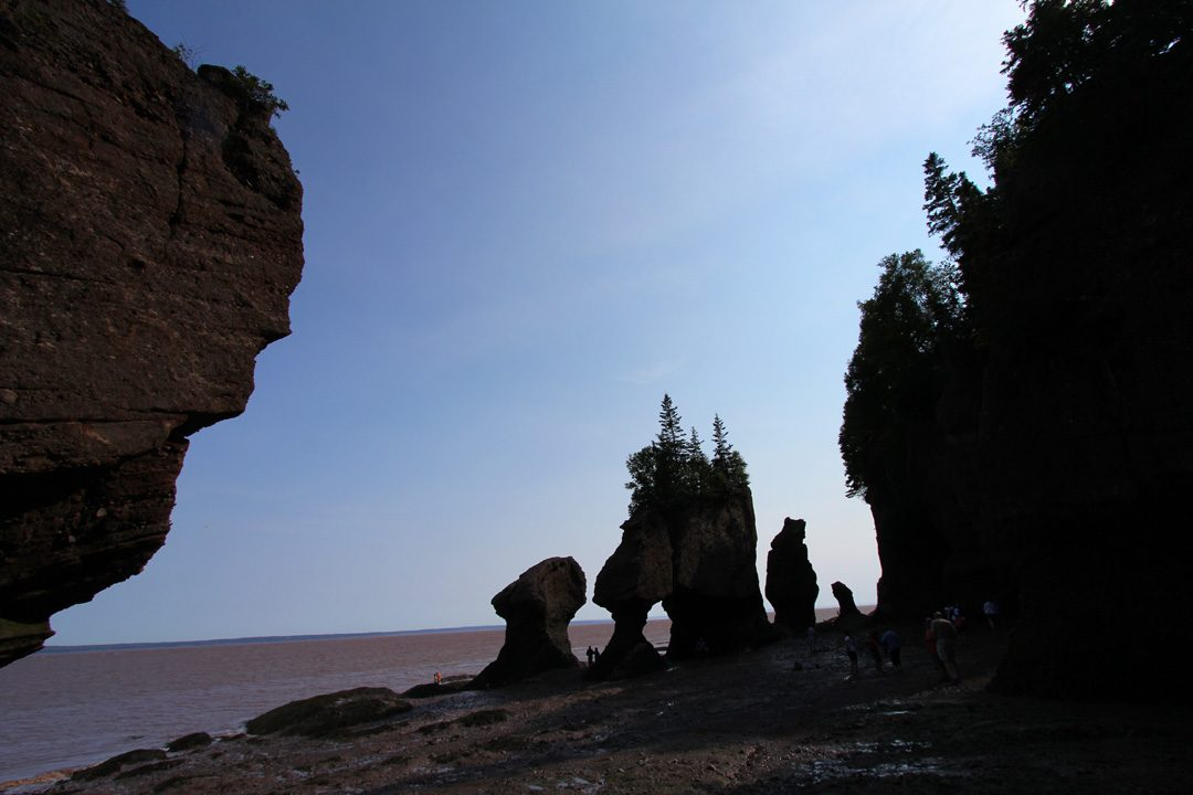 Le parc national de Fundy au Canada
