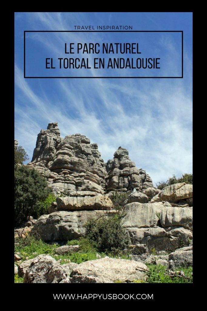 Le Parc Naturel d'El Torcal en Andalousie | www.happyusbook.com