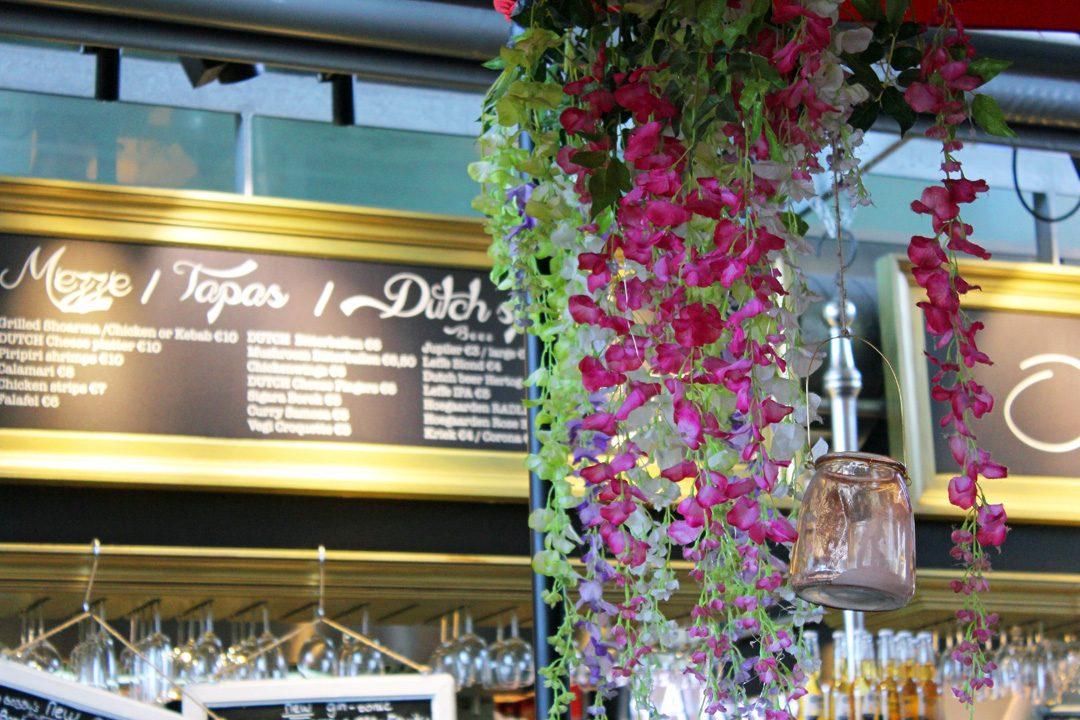 Restaurant dans Le Markthal de Rotterdam