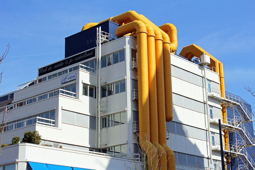 Architecture à Rotterdam