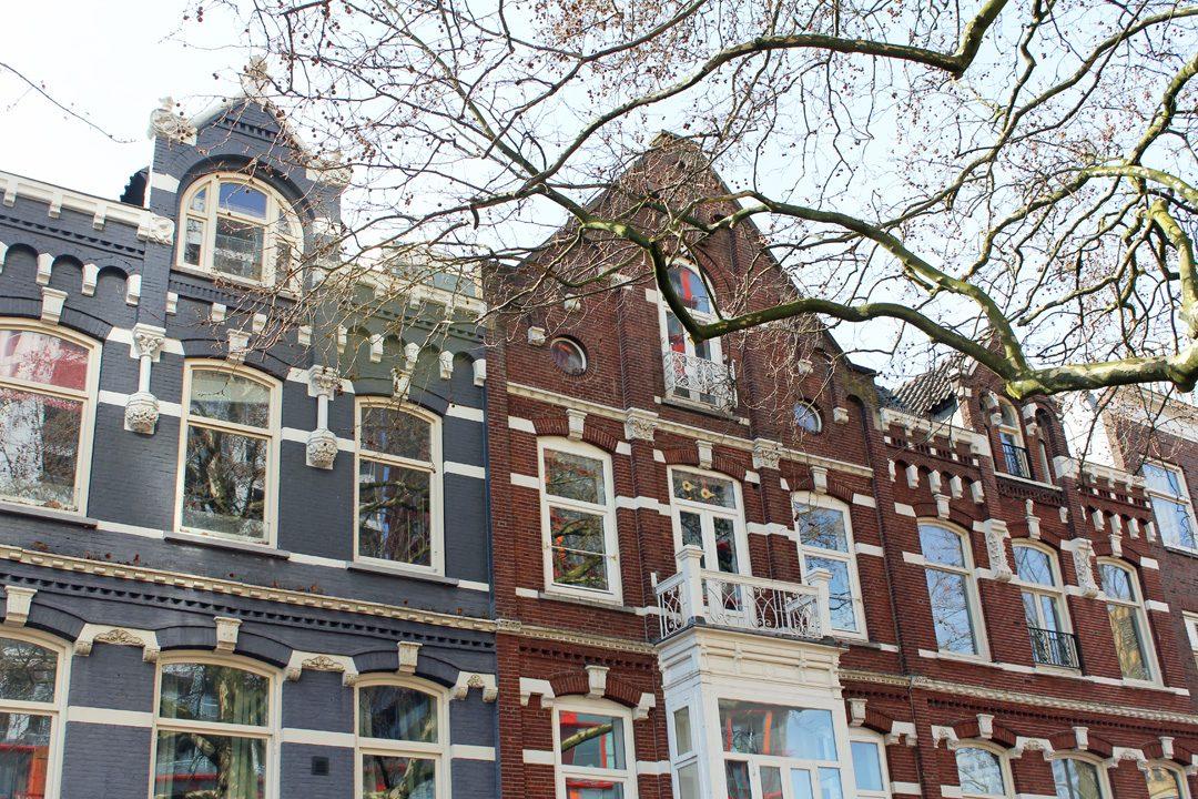 Jolies maisons à Rotterdam
