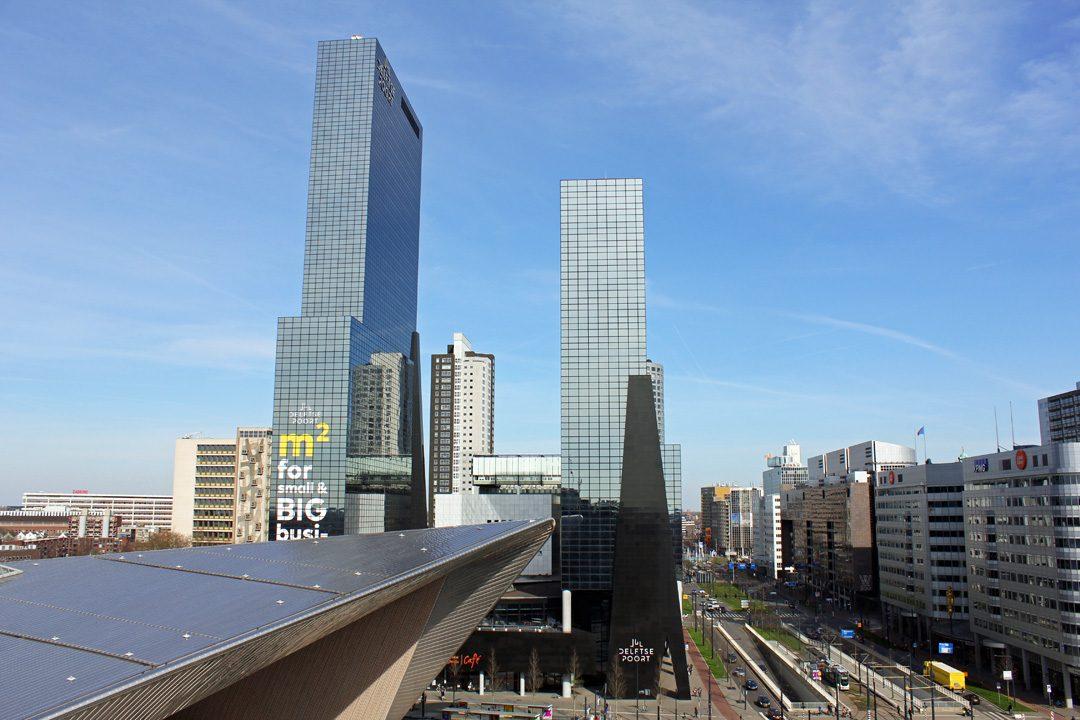 Vue sur la Gare Centrale de Rotterdam