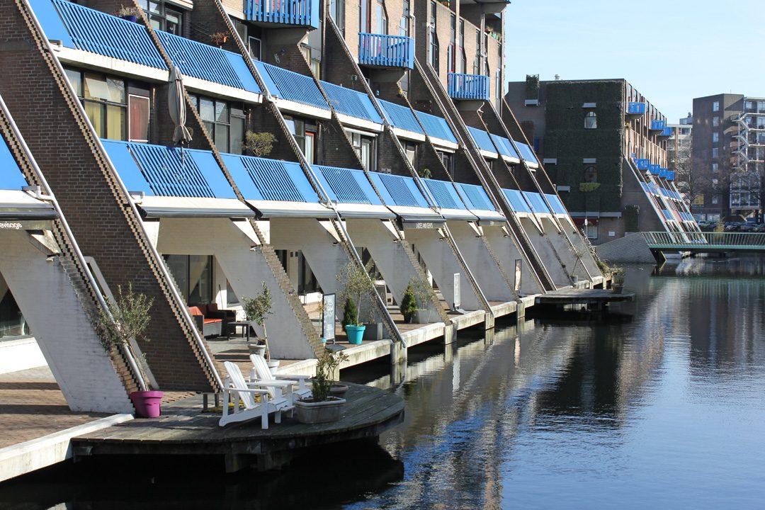 Architecture originale à Rotterdam