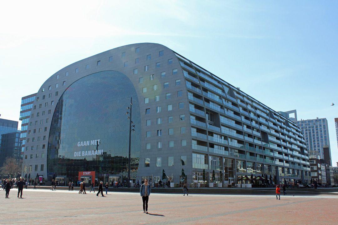 Le Markthal à Rotterdam