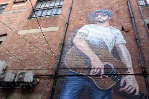 Fresque murale Glasgow
