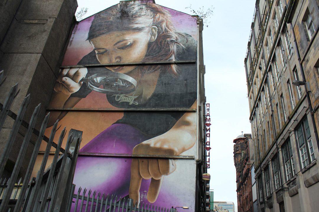Glasgow Mural Trail en Ecosse