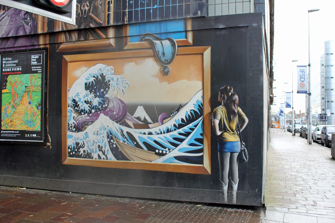 Balade street-art à Glasgow