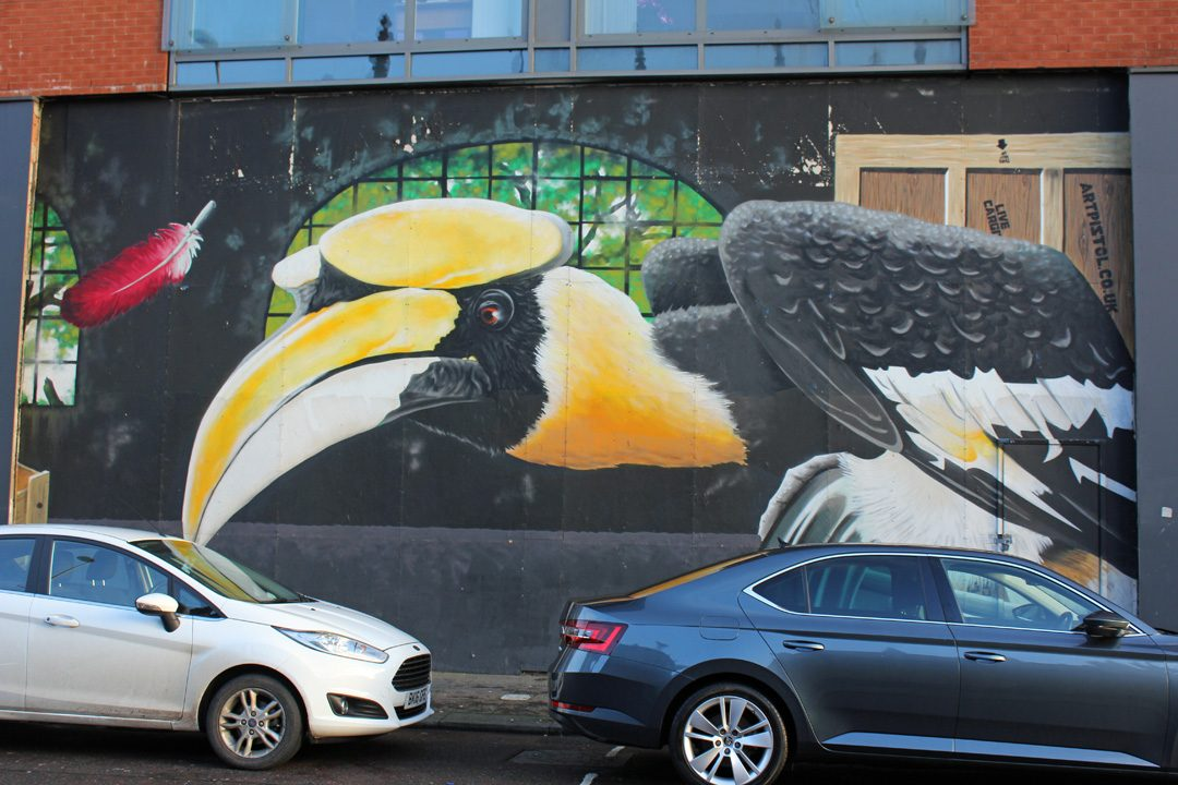 Balade street-art à Glasgow en Ecosse