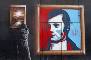 Détails street-art à Glasgow