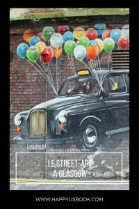 Street-art à Glasgow Mural Trail | www.happyusbook.com