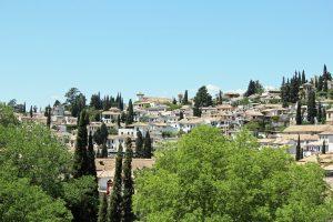 Vue sur Grenade en Espagne