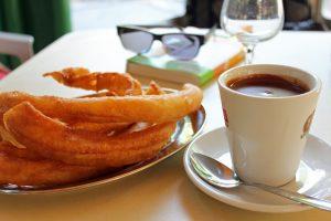 Meilleure adresse churros et chocolat chaud à Grenade en Andalousie