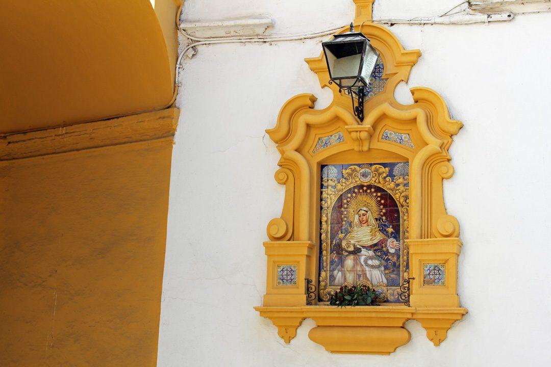 Rues de Séville en Andalousie