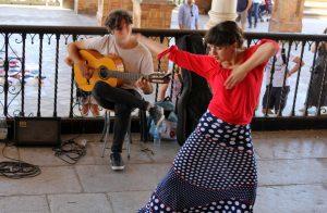 Spectacle de flamenco à Séville en Andalousie